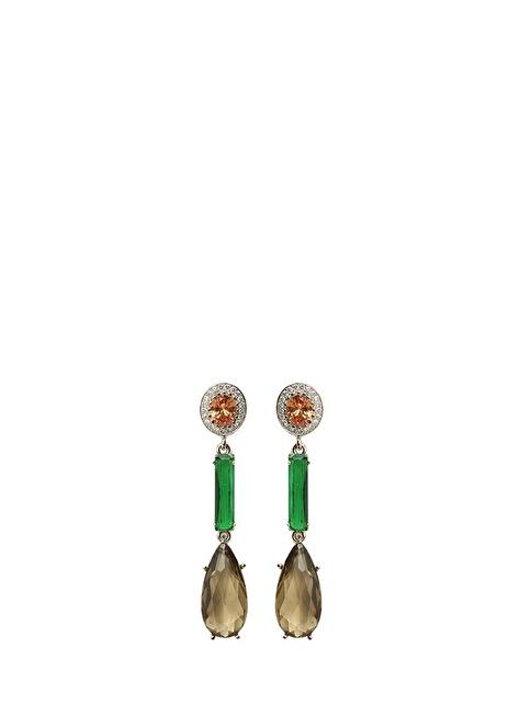 Beymen Collection Küpe Yeşil